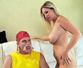 Devon Lee and Evan Stone – Hulk Hogan slams his cock up her pussy hole