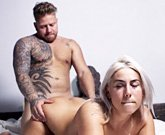 This hot blonde Laurie really enjoys to fuck hard