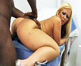 Austin Taylor – Big black stick gets blonde girl with big ass and boobs